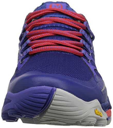 Merrell Peak, Chaussures de Trail Femme Royal Blue/Orange
