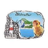 Kesheng Imán para Nevera Gibraltar para Decoración del Hogar Cocina