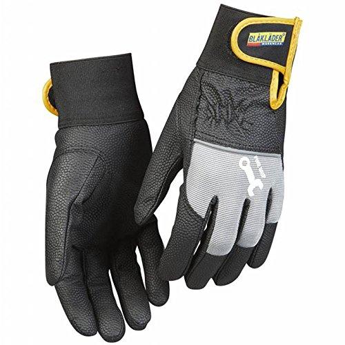 Blakläder Handschuhe 'Mechanik', 1 Stück, 8, schwarz / grau, 2245394299948