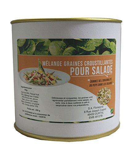 Mélange de graines croustillantes pour salade