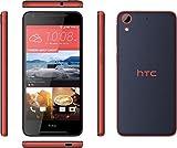 HTC DESIRE 628 Smartphone (16GB Spreich, Nano SIM Slot, 2GB RAM, 4G LTE, 13MP Hauptkamera, 5MP Frontkamera) blau