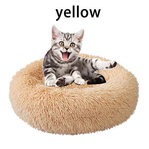 Kostüm Katzenstreu - Factorys 2019 New Plush Kennel Dogs Haustierstreu Deep Sleep PV Katzenstreu Schlafbetten Weich und bequem für kleine, mittlere, große Hunde und Katzen