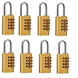 DOCOSS (TM)-Set Of 8-4 Digit Brass Numbe...
