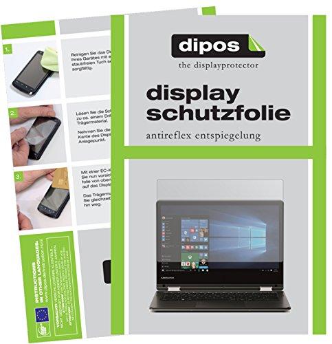 dipos I 2X Schutzfolie matt passend für Medion Akoya E2228T Folie Bildschirmschutzfolie