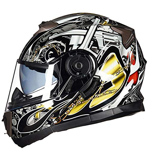 Männer Gute Qualität Motorradhelm Geschenk Motorrad Klapphelme Frauen Helme Doppel Objektiv Mountainbike Motocross Sicherheitskappen Fiberglas Racing Schutzkappen