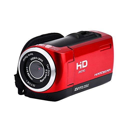 Preisvergleich Produktbild Kingko® Neue 2,8 TFT LCD 16MP HD 720 P Digital Video Recorder Kamera 16x Digital ZOOM DV (Red)