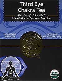 Third Eye Chakra Tea - Organic Herbs - 18 Bleach Free Tea Bags