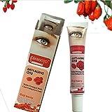 2 PCS Goji Beere Dunkle Kreis Falten-entfernende Augencreme Tief feuchtigkeitsspendende