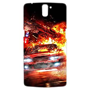 a AND b Designer Printed Mobile Back Cover / Back Case For OnePlus One (1Plus1_3D_2062)