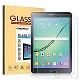 NEARPOW 【2 Stück】 Samsung Galaxy Tab S2 9.7/S3 9.7 Panzerglas Displayschutzfolie, Schutzfolie 9H Härte, Anti-Kratzen, Anti-Öl, Anti-Bläschen, Anti-Fingerabdruck