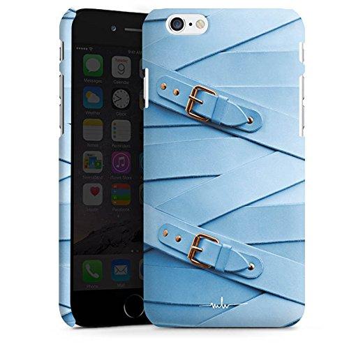 Apple iPhone X Silikon Hülle Case Schutzhülle Mode Leder Schnallen Premium Case matt