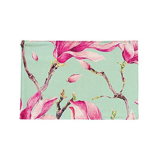 HJHET Chinesische Baumwolle Hanf Double layer Fabric faltbare wasserdichte Kissen Home Rutschfeste kreative Matte, 28 * 44 cm