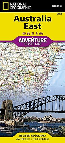 Australien, Osten: NATIONAL GEOGRAPHIC Adventure Maps