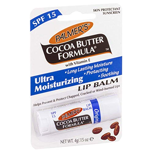 3x Palmer's Cocoa Butter Formula Lip Balm with SPF15 Chapstick -