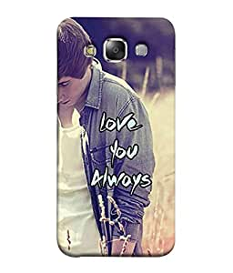 PrintVisa Designer Back Case Cover for Samsung Galaxy E5 (2015) :: Samsung Galaxy E5 Duos :: Samsung Galaxy E5 E500F E500H E500Hq E500M E500F/Ds E500H/Ds E500M/Ds (Police Line do not cross Cool Quote Designer Case Mind Blowing Cell Cover Impressive Smartphone Cover cop Police Warning )