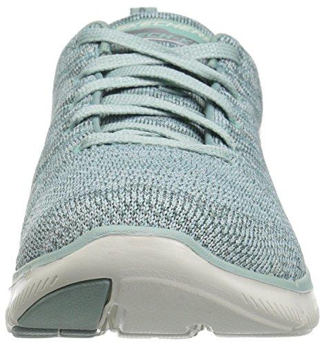 Skechers Flex Appeal 2.0 High Energy, Baskets Basses Femme Sage