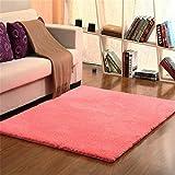 1Sconto Moderner Einfacher Lammfellwohnzimmer Couchtischteppichschlafzimmerteppich Bodenmatten Nachtdecken Superweiche Note