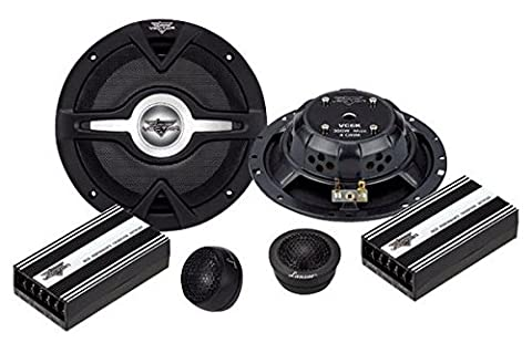 Lanzar VC6K Vector 6.5 inch 2 Way Slim Component Speaker System