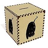 Azeeda Grande 'Topo di Campagna' Salvadanaio in Legno (MB00049940)