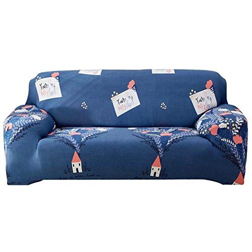 AnySell - Funda Protectora para sofá y sillón elástica con Ajuste Suave, Antideslizante, D, 2 Seater