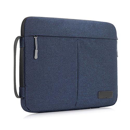 """Y-master 14-15,4 Zoll Laptophülle wasserdicht dünn für Lenovo Dell Acer Asus Macbook Toshiba und andere 14-15,4"""" Ultralbooks Notebooks für Damen und Herren, Navyblau"""