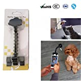 panpan Haustier Selfie Stock Clip Halter Für perfekte Bilder Ihrer Hundekatze