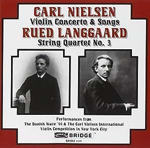 5 Chants;Concerto Pour Violon Et Orchestre;Quatuor A Cordes N 3