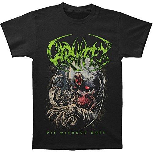 Michaner Walosde Carnifex Men's Die Without Hope T-shirt Black Medium