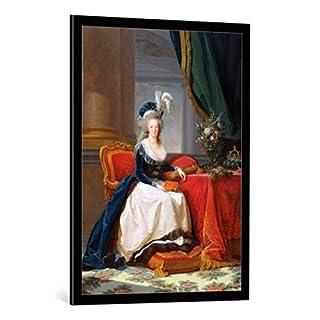 Kunst für Alle Image encadrée: Élisabeth-Louise Vigée-Lébrun Marie-Antoinette 1755-93 1788