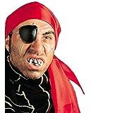 Piraten Zähne falsche Zähne Kunstzähne künstliche Faschingszähne Karnevalszähne Gebiss