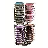 Sweety House 48capsule di caffè Tassimo porta capsule dispenser in acciaio INOX supporto rack Tower