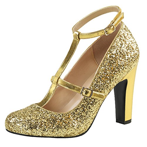 Heels-Perfect - alto Donna Oro (gold)