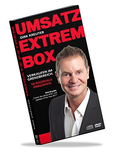 Umsatz Extrem - Box: Verkaufen im Grenzbereich. 10 radikale Prinzipien [13 CDs + 3 DVDs] [2014] Dirk Kreuter Dvd-13.3
