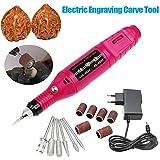 Rokoo 15 Teile / satz DIY Elektrische Gravur Engraver Pen Schnitzen Werkzeug für Schmuck Metall Glas EU Stecker