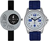 Volga Diwali Special/Navratri Special Designer Watch Combo For Men, Boys, Girls and Womens
