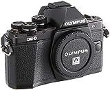 Olympus OM-D E-M10 Mark II Systemkamera (16 Megapixel, 5-Achsen VCM Bildstabilisator, elektronischer Sucher mit 2,36 Mio. OLED, Full-HD, WLAN, Metallgehäuse) nur Gehäuse schwarz