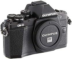 Olympus OM-D E-M10 Mark II Micro Four Thirds Systemkamera, 16 Megapixel, 5-Achsen Bildstabilisator, elektronischer Sucher, schwarz
