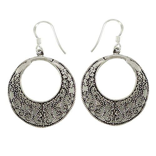 ng Silber Designer Ohrring Indischen Modeschmuck Geschenk Für Sie (Designer Modeschmuck Ohrringe)