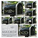 Adesivo Murale Wall Stickers Frase Citazione Adesivi Murali Decorazione Etichetta personalizzata per nome e indirizzo per mailbox e sportello anteriore