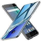 TOPACE Hülle für HTC U11 Life, TPU Hülle Schutzhülle Crystal Case Durchsichtig Klar Silikon transparent für HTC U11 Life (Transparent)