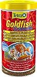 TETRA Goldfish Granules - Aliment Complet en granulés pour Poisson Rouge - 1L