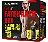 Body Attack LIPO 100 Fatburner Box