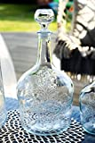 Glasflasche Weinkaraffe Dekantierer Liköre , Cognac , Whisky 3l
