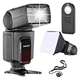 Neewer TT560 Flash Speedlite Kit for Canon Nikon Sony Pentax DSLR Cameras