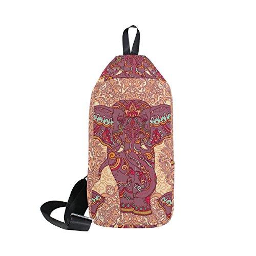 DragonSwordlinsu COOSUN - Mochila para Hombre, Diseño de Elefantes Indios