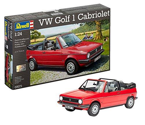 Revell VW Golf 1 Cabrio Voiture Maquette Plastique