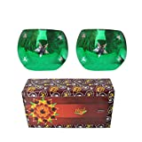 Best Family Gifts - Lalhaveli Green Glass Tealight Candle Holder Diwali Gifts Review
