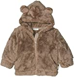 United Colors of Benetton Unisex Baby Jacke Jacket W/Hood L/S, Grau (Dove-Grey 21f), 62