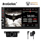 Android 7.1 stéréo de voiture double 2DIN pour écran tactile pour Toyota Rav4 Camry Corolla 4Runner Hilux Tundra Celica Auris en Dash Head Unit carte de navigation GPS Radio AM/FM Bluetooth