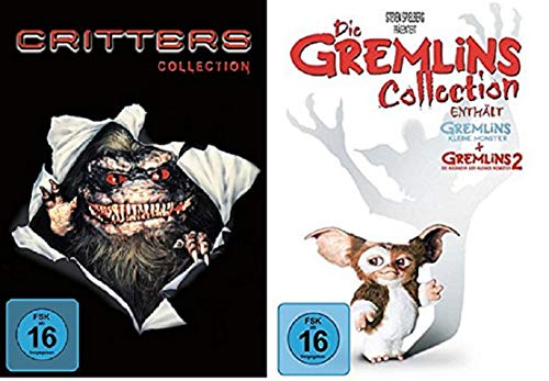 Critters Collection Teil 1+2+3+4 + Gremlins Teil 1+2 [DVD Set]